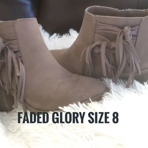 Faded Glory size 8